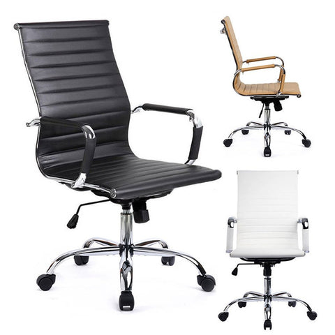 Free Sample Boss Swivel Revolving Manager Pu Leather Executive Office Chair/chair Office - FOB:US$ - MOQ: