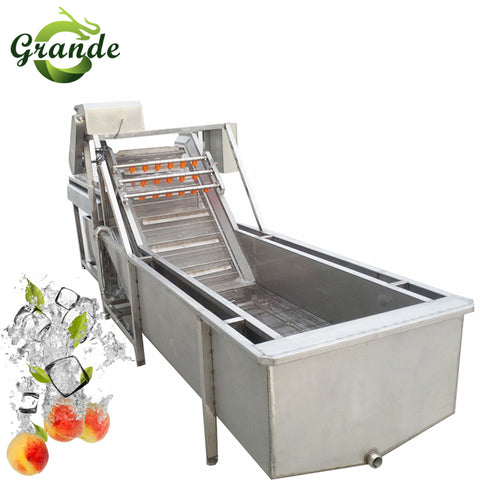 Fruit Washing Production Line Peeler Machine Sweet Potato Washing Machine - FOB:US$ - MOQ: