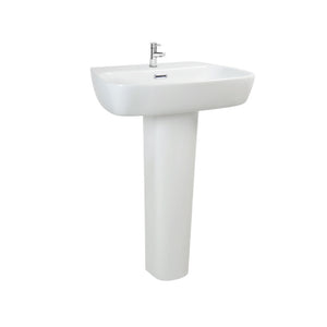 Full Pedestal Ceramic Hand Washing Bathroom Sink - FOB:US$ - MOQ: