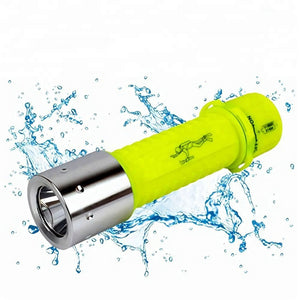 Most Powerful Waterproof 1w Led Diving Flashlight - FOB:US$ - MOQ:
