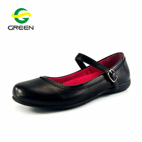 Children Leather School Shoes for Girls - FOB: US$ - MOQ