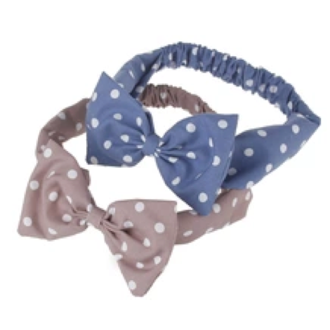 Rabbit Ears Headband New Polka Dot Baby Hair Band Children Hair - FOB:US$0.50-2.00 - MOQ:1000