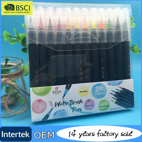24 Colors Art Water Color Calligraphy Drawing - FOB:US$0.17 - MOQ:10000