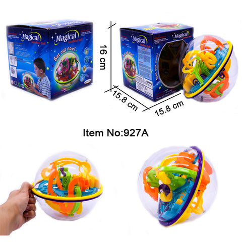 Ball Puzzle Ball - Maze Game Puzzle for Brain Development - FOB:US$3.49 - MOQ:144