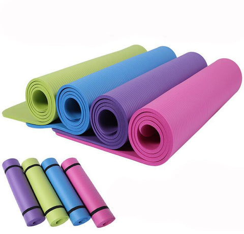 Anti-slip Sport Rubber Yoga Mat Fitness Equipment - FOB:US$ - MOQ: