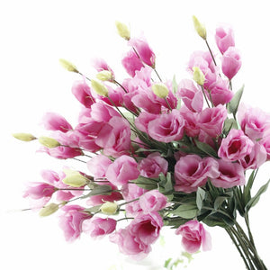 7 Head Eustoma Artificial Flower for Home Decoration - FOB:US$1.32 - MOQ:1000