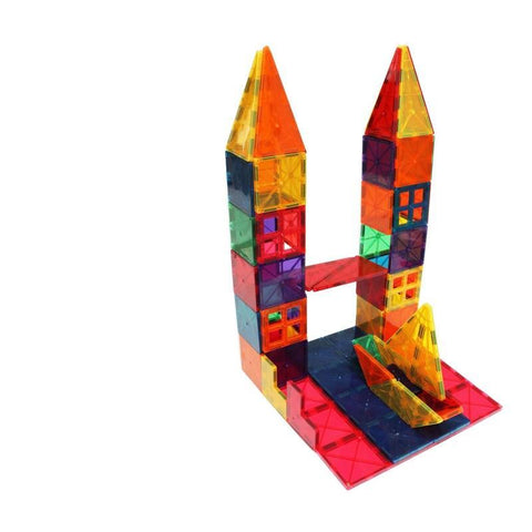 Blocks Colorful Plastic House Building Blocks Children Toys- FOB:US$12.07 - MOQ:100