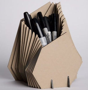 Cardboard Paper Decoration Pen Holder - FOB:US$5.00 - MOQ:1000