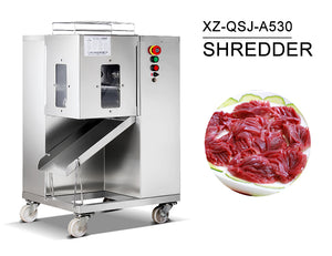 CE Approved Industrial Meat Shredding Machine - FOB:US$1,919.50 - MOQ:1