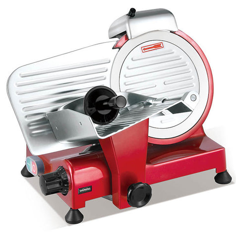6 Inch Household Red Semi Automatic Electric Meat Slicer - FOB:US$ - MOQ: