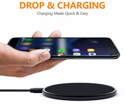 S8 Wireless Qi Wireless Charger - FOB:US$7.70 - MOQ:100