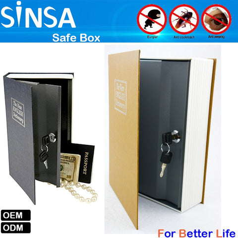 Similar English Dictionary Safe Built-in Metal Secret with Combination Lock - FOB:US$ - MOQ: