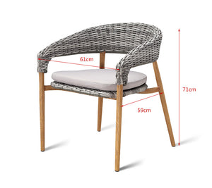 Garden Patio Chair Outdoor Furniture - FOB:US$62.70 - MOQ:80