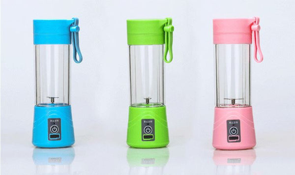 2/4/6 Blades Rechargeable USB Fruit Juicer Portable - FOB:US$4.73 - MOQ:300