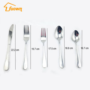 Stainless Steel Cutlery - FOB:US$1.52 - MOQ:6000