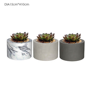 Grey Cement House Plant - FOB:US$ - MOQ: