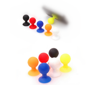 Amazing Colorful Silicone Mobile Phone Stand Holder - FOB:US$ - MOQ: