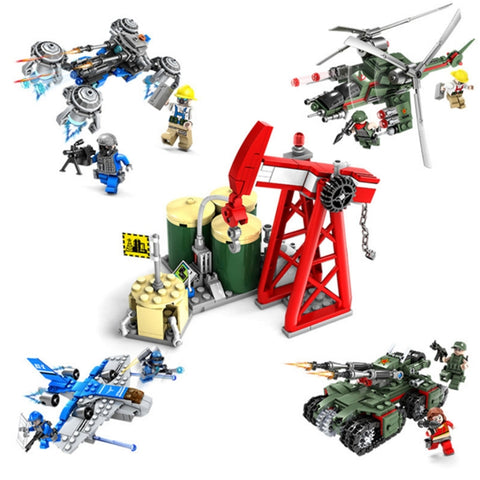 High Quality 5 In 1 Diy Enlightenment Assembled Building Blocks Educational Toys For Kids - FOB:US$ - MOQ: