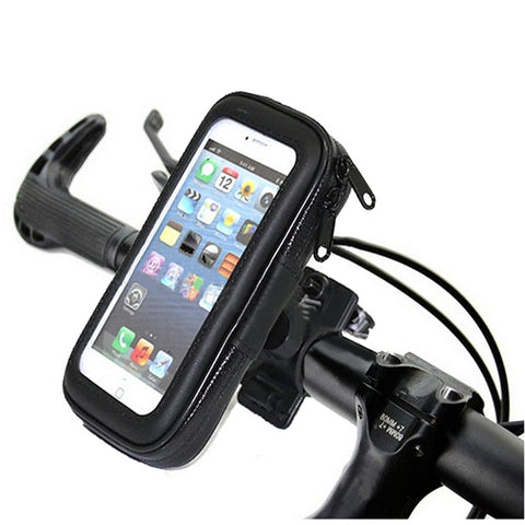 Bike Bicycle Phone Holder With Waterproof Bag For Smart Phone And Gps - FOB:US$ - MOQ: