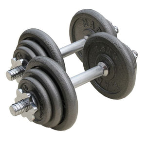 High Quality Free Weights Adjustable Cast Iron Dumbbell - FOB:US$ - MOQ: