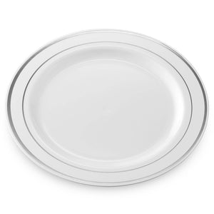 High Quality Party Use Disposable Clear Hard Ps Dinner Plates - FOB:US$ - MOQ:
