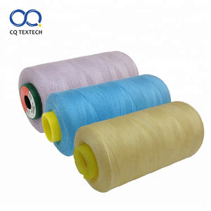High Tenacity Recycled 100 Spun Dyed Sewing Polyester Thread - FOB:US$ - MOQ: