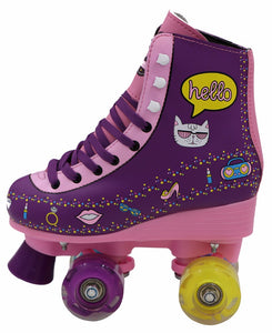 customized Quad Roller Skate With Flashing Wheels - FOB:US$ - MOQ: