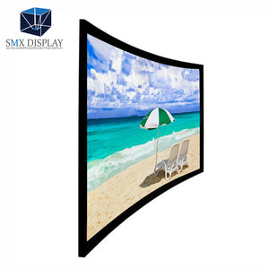 High Quality 4k Perfect Flat Surface Ease Of Installation Hd Cinema Fixed Frame Projector Screen - FOB:US$ - MOQ: