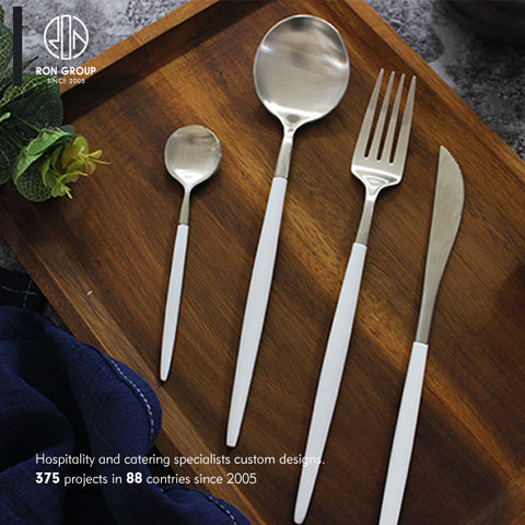 High Quality A Food Grade Stainless Steel Knife And Fork Hotel Edible Cutlery - FOB:US$ - MOQ:
