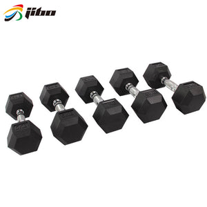 High Quality Free Weight/rubber Coated Dumbbell - FOB:US$ - MOQ: