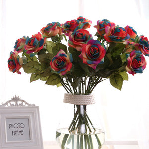 Home Wedding Decoration Silk Flowers Artificial - FOB:US$1.10 - MOQ:1000