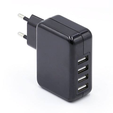 Hot Sale Mobile Phone Accessories Mini 5v 4.8a 4 In 1 Usb Plugs Travel Mobile Charger - FOB:US$ - MOQ: