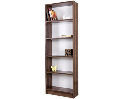Hot Sale Walnut Economic Bookcase Home Office School Bookshelf - FOB:US$ - MOQ:
