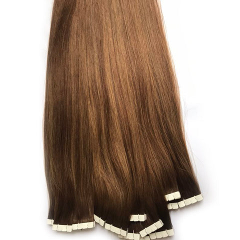 Cuticle Aligned Virgin Brazilian Hair Wholesale Private Label 7a Tape Hair Extension - FOB:US$ - MOQ: