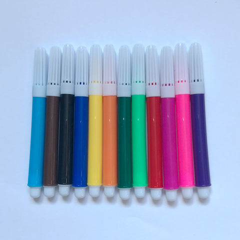 Hot Sale 12colors Water Color Drawing Pen For Kids - FOB:US$ - MOQ: