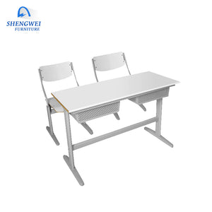 Hot Sale Factory Price Customized Cheap Double School Kids Desk And Chair - FOB:US$ - MOQ: