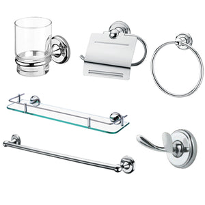 Hotel Modern Simply Stainless Steel Bathroom Accessory Set - FOB:US$ - MOQ: