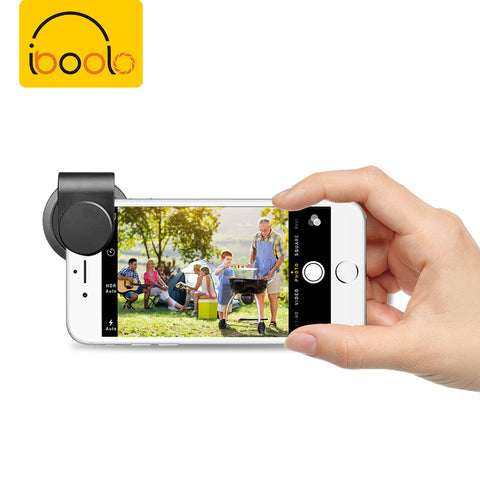 Iboolo Hot Selling High Quality Mobile Phone 18mm Pro Super Wide Angle Lens For Phone Camera - FOB:US$ - MOQ: