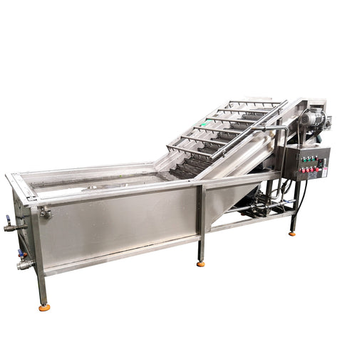 Industrial Fresh Vegetable Fruits Cleaning Drying Processing Machinery Dry Dates Washing Machine - FOB:US$ - MOQ: