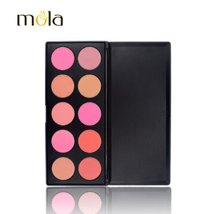 10 Color Palette High Quality Plum Best Powder Blush | Buy Wholesale at Tuibos.com