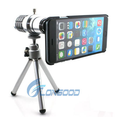 Mobile Phone Lens Universal 12x Zoom Telescope Camera Telephoto Lenses For Iphone6 - FOB:US$ - MOQ: