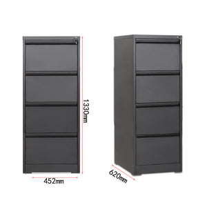Modern High Office Lockable Cabinets 4 Drawer - FOB:US$ - MOQ: