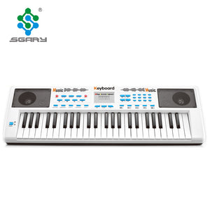 Musical Instruments For Kids White 49 Keys Multi-functional Electronic Keyboard Price - Buy Electronic Keyboard,49 Keys Electronic Keyboard,Electronic Keyboard For Kids Product on Alibaba.com