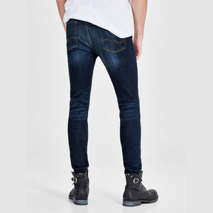 Mens High Quality Ripped Black Denim Jeans