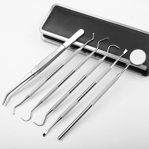 New Stainless Steel Dental Tools Dental Instrument Surgical Oral Care Kit - FOB:US$ - MOQ: