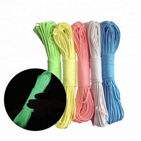 New Collection Survival Paracord Reflective Rope For Camping Tent And Parachute - FOB:US$ - MOQ: