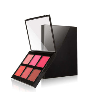 6 Colors Blush Palette Makeup Powder - FOB:US$ - MOQ: