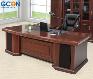 Executive Office Desk,Executive Wooden Office Desk,Modern Executive Desk Office Table Design - FOB:US$ - MOQ:
