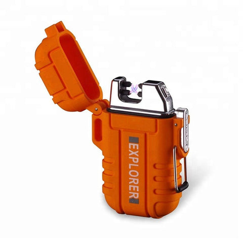 Newest Waterproof Lighter Nice Gift Box Small Lighter Easy To Carry Usb Lighter - FOB:US$ - MOQ: