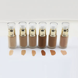 36 Colors Professional Makeup 32ml Whitening Full Coverage Liquid Foundation - FOB:US$ - MOQ: